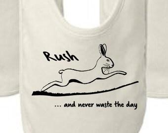 Phish bib, Character Zero, Never Waste the Day Hare