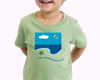Grateful Dead Kids shirt, Child of Boundless Seas