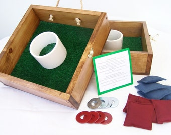 Washer Toss Game, washers & bean bags