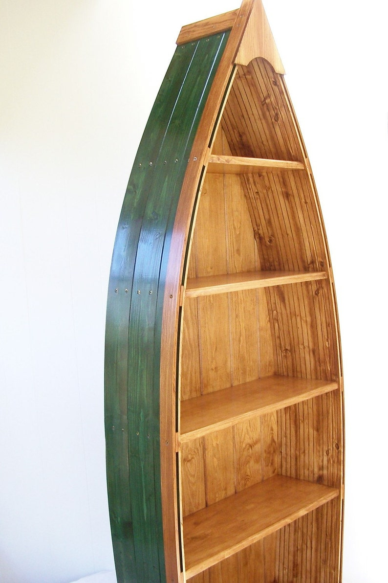Boat Bookcase Various Colors H 69 Inches 5 Shelves