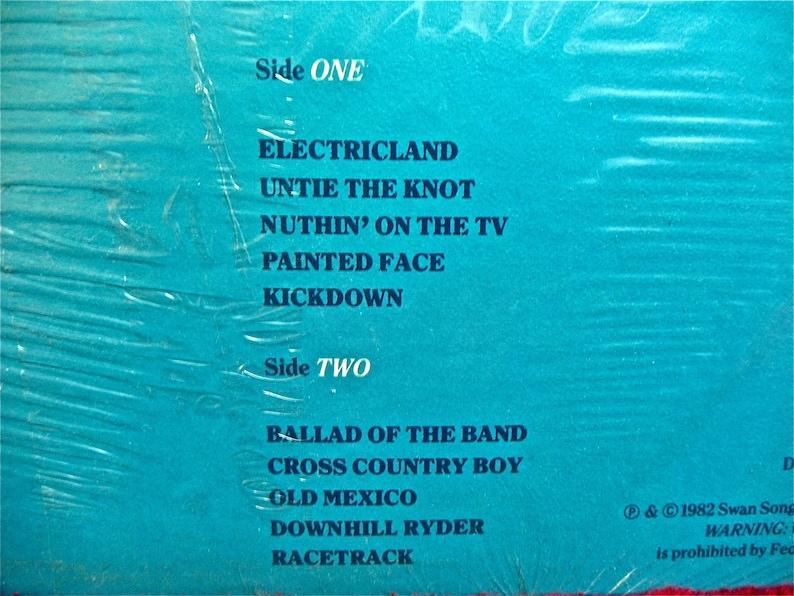 BAD COMPANY - Rough Diamonds - 1982 Vintage Vinyl Record  Album   Promotional Copy