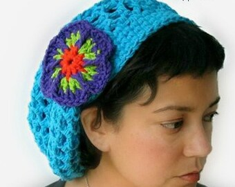 9571dbf13d8 Crochet Hat Pattern - Penelope s Summer Slouch Hat crochet pattern - Infant  to Adult Sizes - pdf