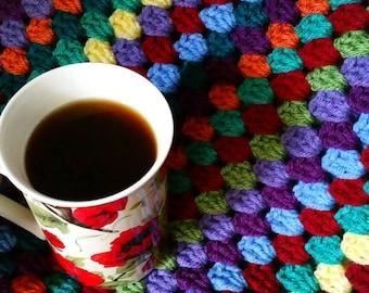 Afghan Patterns, Crochet Blanket Patterns, Blanket PDF Tutorial, Easy Blanket Pattern, Cute Crochet Blanket