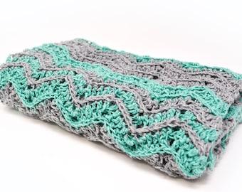 Crochet Blanket Pattern, Baby Blanket Pattern, Chunky Blanket, Blanket PDF Tutorial, Blanket Pattern, Gift For Mother, Chevron Blanket