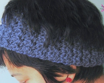 Crochet Pattern - Bienvenue Headband Earwarmers One Skein 1hour Super Easy Tutorial- PDF file Permission to Sell What you Make p 118