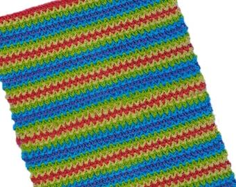 Crochet Pattern - Sweet Retreat Spa Towel crochet pattern - PDF
