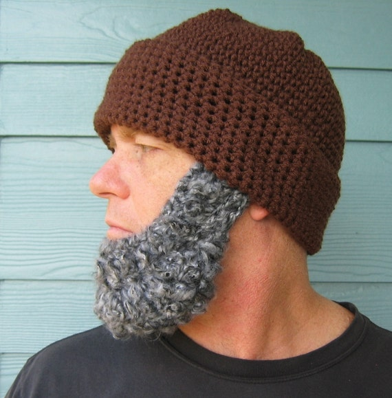 fd2fe9d4c50 Crochet Pattern Beard Beanie PATTERN Santa Claus Hat Photo