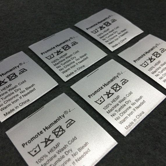Custom satin printed labels Custom printed labels 100 Satin printed labels