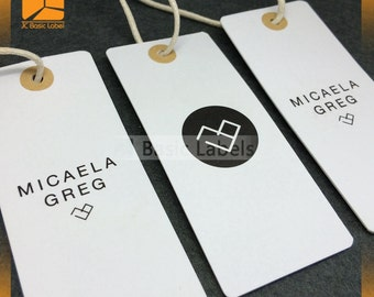 1000 Custom hang tags, Custom price tags, Hang tag design, Clothing hang tags, hang tags for businesses, swing tags