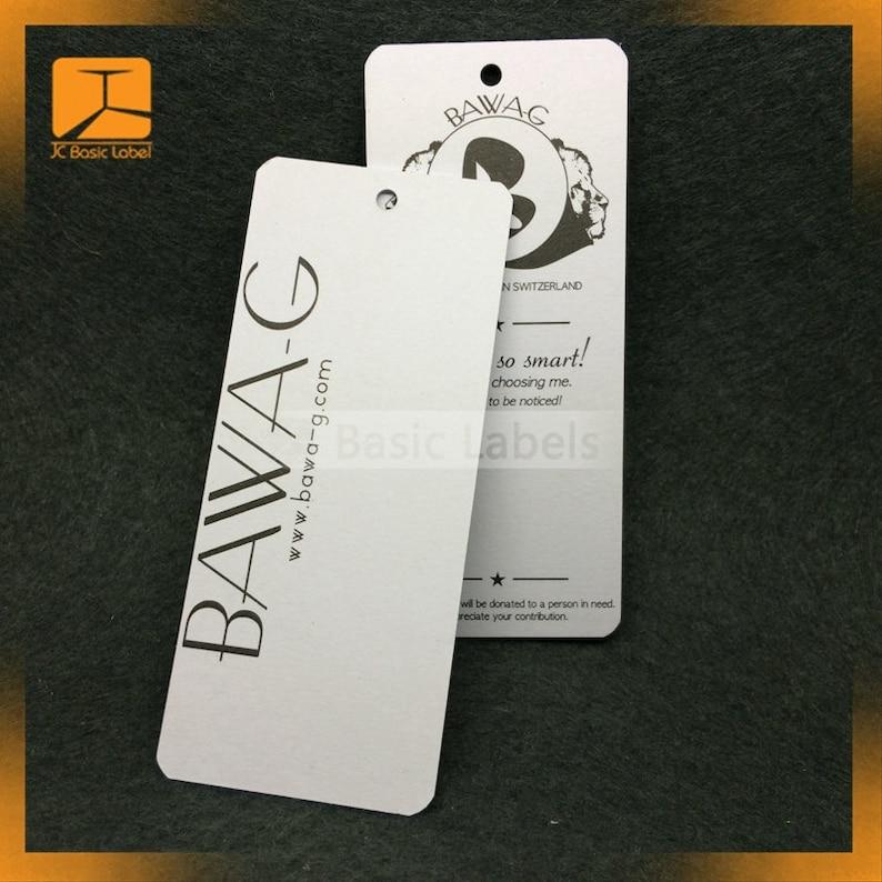 Price Tags Hang Tags 1000 Custom price tags Product Tags Custom Kraft tags Personalized Tags Custom hang tags
