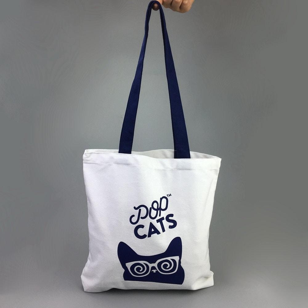 100 bolsas personalizadas sacola reutilizável