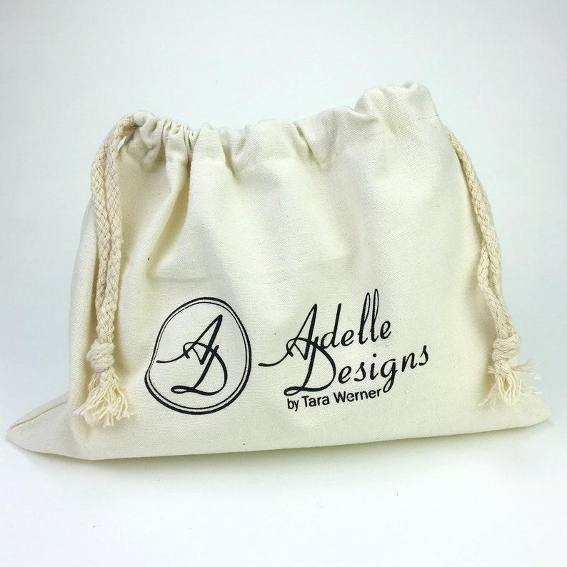06fb5a1359aec 200 Custom Drawstring Bags, Durable Cotton Canvas Dust Bag for Handbags or  Shoes