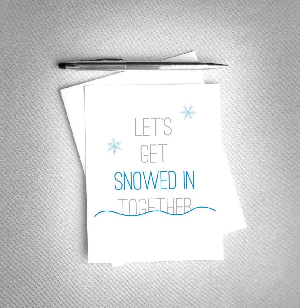 Romantic Christmas Card. Romantic Holiday Card. Printable | Etsy