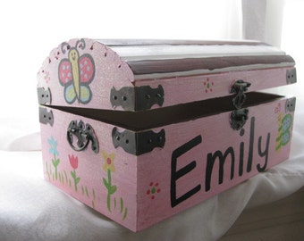 Domed Wood Chest Etsy