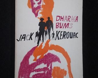 Jack Kerouac novel--Dharma Bums (1982 paperback)