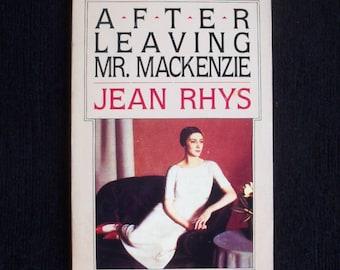 Jean Rhys--After Leaving Mr MacKenzie