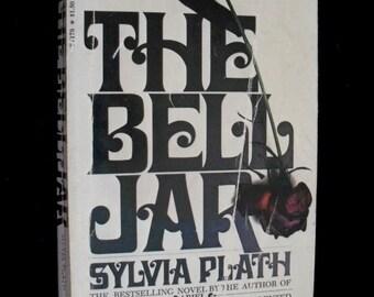 The Bell Jar--A novel by Sylvia Plath (Bantam paperback)