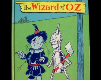 The Wizard of Oz by L. Frank Baum (1964 hardcover) * Reilly & Lee