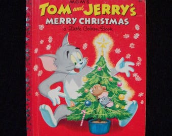 Tom & Jerry's Merry Christmas (Little Golden Book)