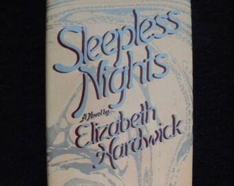 Sleepless Nights by Elizabeth Hardwick (1979, hardcover)