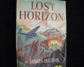 Lost Horizon, A novel by James Hilton (Pocket Books paperback, 1939)