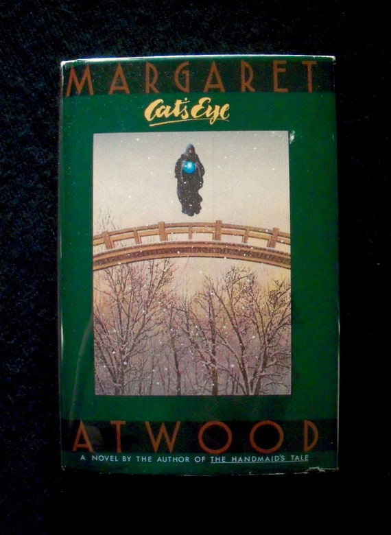 Cats Eye By Margaret Atwood 1988 Hardcover Etsy