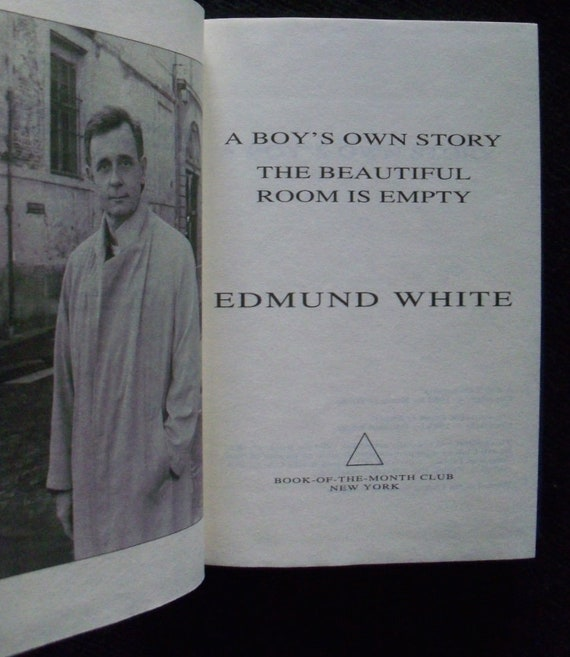 Edmund Whitea Boys Own Story And The Beautiful Room Is Etsy