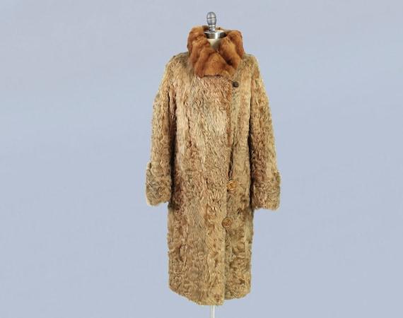 1920s Coat / 20s Fur Coat