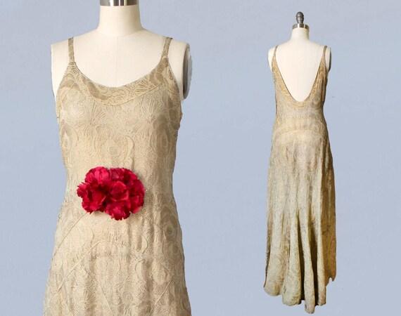 1930s Wedding Dress / INCREDIBLE 30s Hollywood Gla