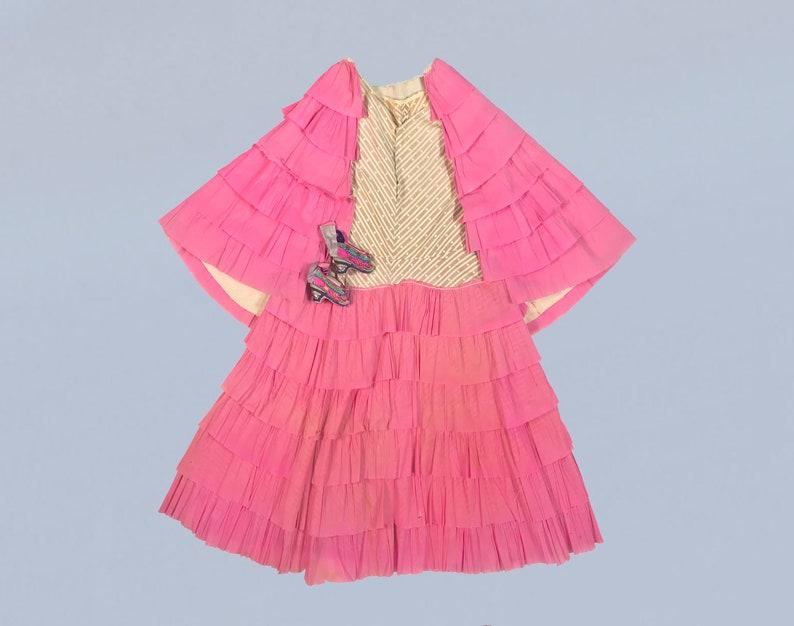 Vestito Di Halloween Antichi Rari Carta Crespa 1920s Costume Etsy