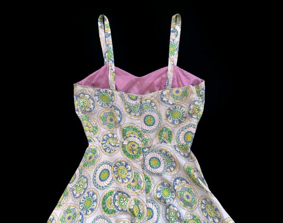 RARE!!! 1940s Jumpsuit / 40s Printed Onesie and J… - image 5