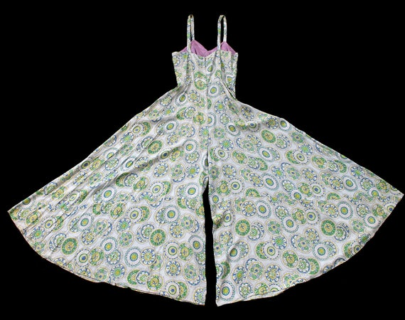 RARE!!! 1940s Jumpsuit / 40s Printed Onesie and J… - image 2