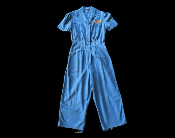 RESERVED — 1940s Women's Factory Coverall Jumpsuit
