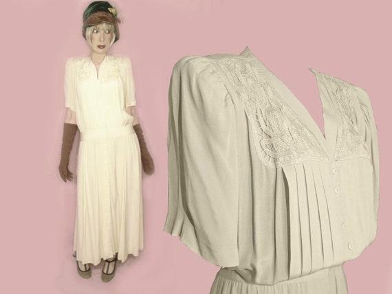 Plus Size 30s Style Dress XL Midi Maxi Formal Volup 20s Dropped Waist  Dramatic Informal Bride Gatsby Wedding Guest