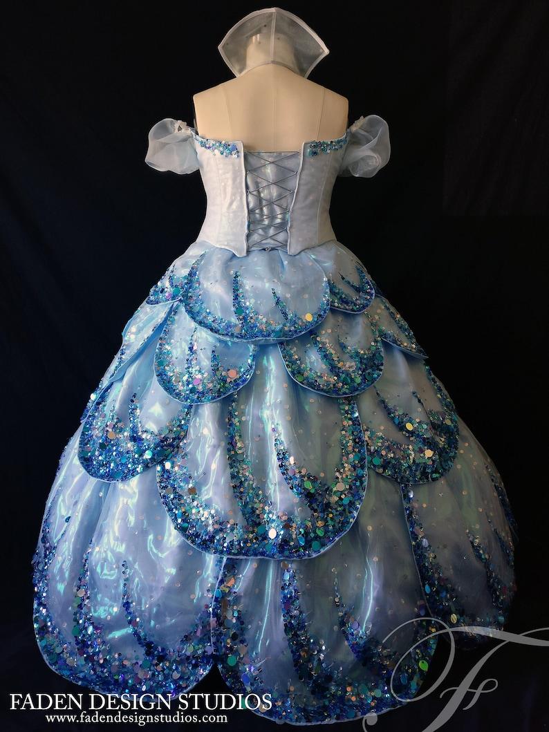 Wicked Glinda the Good Witch Bubble Dress Replica   Etsy
