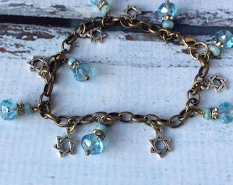 Blue Sky & Stars Bracelet BSC-192