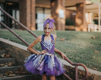 Girls Zombie Cheerleader (ANY TEAM) Tutu Dress Halloween Costume (Newborn - 5T)  sc 1 st  Etsy & Zombie tutu dress | Etsy