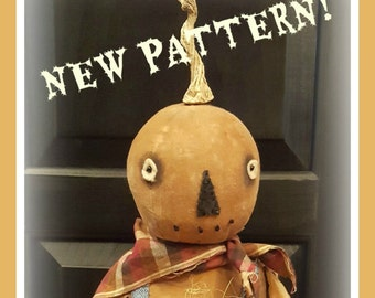 Hector - Primitive Pumpkin Man PATTERN only