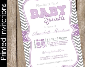 Donuts and diapers sprinkle baby shower invite donuts baby etsy sprinkle baby shower invitation purple and gray baby shower invitation baby sprinkle invitation chevron baby shower invite free envelopes filmwisefo