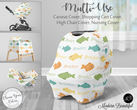 Magnificent Fishing Car Seat Canopy Cover Boy Fishing Custom Infant Car Creativecarmelina Interior Chair Design Creativecarmelinacom
