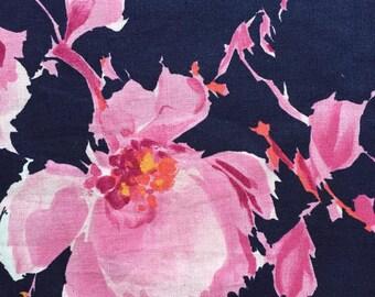 1 yard cute flower printed fabric