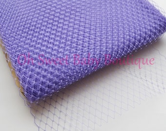Lavender Russian Veil Bird Cage Netting  Clearance  f06f1918dce3