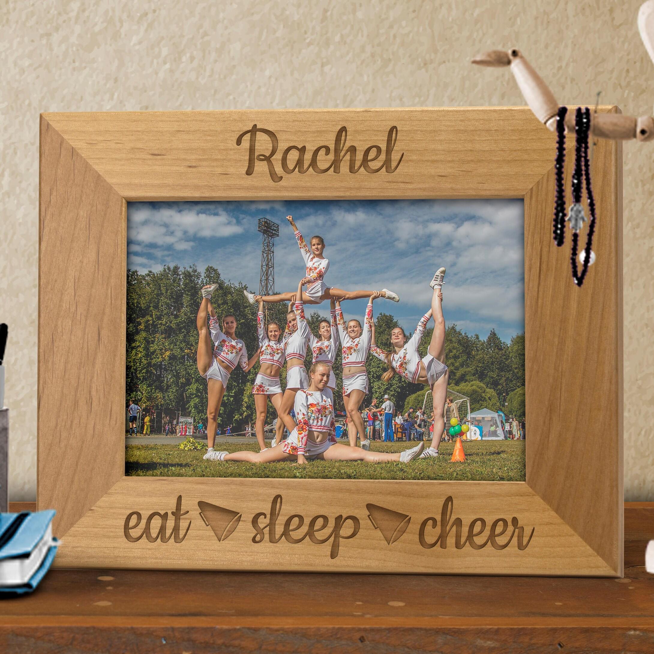 Eat Sleep Cheer Personalized Frame,Cheerleader Coach Gift, Parent ...