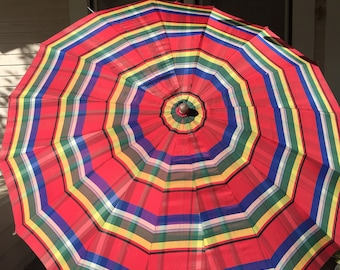 Striped Vintage Umbrella