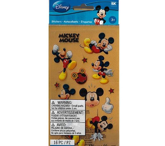 Disney Scrapbooking Mickey Mouse Sticker EKSuccess | Etsy