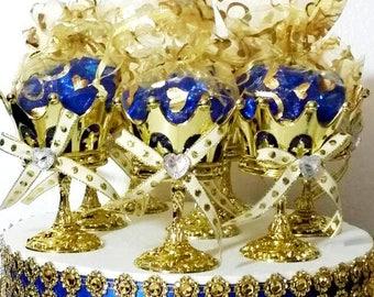 Wondrous Royal Prince Baby Shower Candy Buffet Centerpiece Royal Beutiful Home Inspiration Xortanetmahrainfo