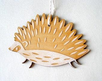 Hedgehog Holiday Ornament