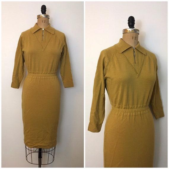 Vintage 1950s 1960s Coronia Sportswear Knit Sweate