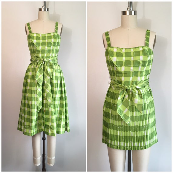 Vintage 1950s Gabar Bathing Suit Skirt Set 50s Swi