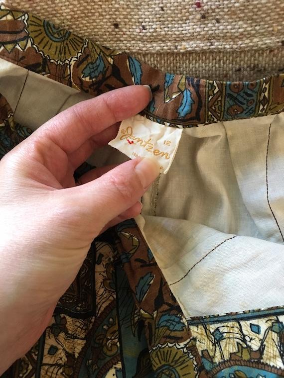 Vintage 1950s 1960s Jantzen Shorts 50s 60s Batik … - image 7
